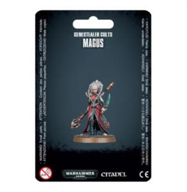 This set builds one Magus, and features options allowing you to build yours with a knife in one hand, or a skull. This kit is supplied in 11 plastic components, and contains a 32mm round base.