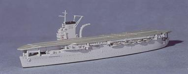 A 1/1250 scale model of the French aircraft carrier Bearn in 1938 by Navis Neptun 1410.