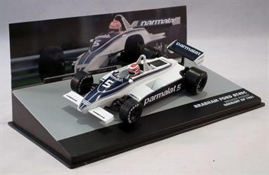 MAG KG06 Brabham Ford BT49C Nelson Piquet P1 Germany GP 1981