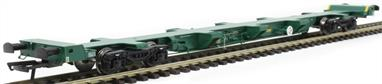 Hattons H4-FEAE-004 1/76 FEA-E Intermodal Wagon in Freightliner Green Livery