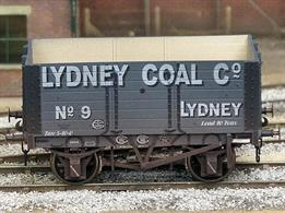 Weathered version of the Lydney Coal Company RCH 1887 7 plank open wagons model.