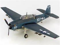 "Hobby Master HA1222 1/72nd Grumman TBF-1C Avenger ""The Battle of Leyte"" White 93 of VT-15, USS Essex (CV 9), Nov 1944"