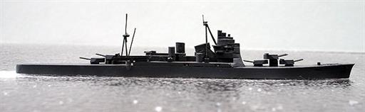 Secondhand Mini-ships 1200W28 Atago Takao type Japanese heavy cruiser in WW2 1/1200