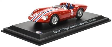 MAG HD48 1/43rd Maserati Tipo 61 'Drog' Guards Trophy 1963 168 Casner