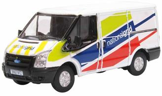 Oxford Diecast 76FT035 1/76th Ford Transit MK5 National Grid