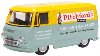 Oxford Diecast 76PB009 1/76th Commer PB Van Pitchford and Miles