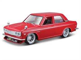 Maisto M39308 1/24th 1971 Datsun 510 Diecast Model