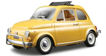 Burago B18-22099 1/24th 1968 Fiat 500L Model