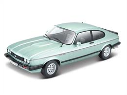 Burago B18-21093 1/24th 1982 Ford Capri Car Model