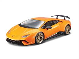 Burago B18-21092 1/24th Lamborghini Huracan Performante Diecast Model