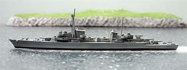 A second-hand 1/1250 scale waterline model of a 1939 proposed scout cruiser for the Kriegsmarine by Hansa S183. The model is in very good condition, see photograph.