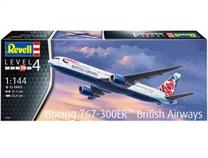 Revell 03862 1/144th Boeing 767-300ER British Airways Chelsea Rose