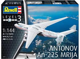 Revell 04957 1/144th Antonov AN-225 Mrija Aircraft Kit