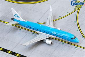 Gemini Jets GJKLM1901 1/400th KLM CITYHOPPER E175