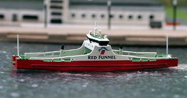 A 1/1250 scale model of MV Red Kestrel of 2019 by Rhenania Junior Miniatures RJ337