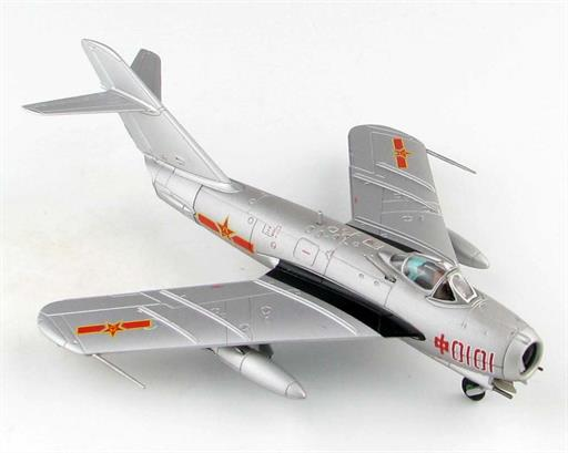 Hobby Master HA5906 J-5 Jet Fighter Red 0101, China Air Force (PLAAF), 1956 1/72