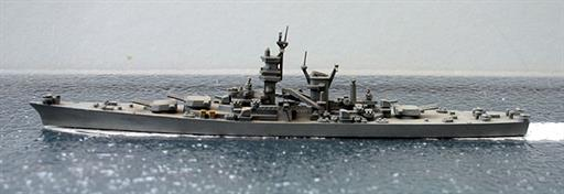 Secondhand Mini-ships Delphin D28 USS Alaska battlecruiser 1944 1/1250