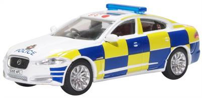 Oxford Diecast 76XF008 1/76th Jaguar XF Surrey Police