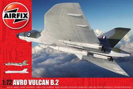 Airfix A12011 1/72nd Avro Vulcan B.2 Bomber Aircraft KitNumber of Parts    Length 450mm   Wingspan 470mmAnnounced at SMW Telford 2019