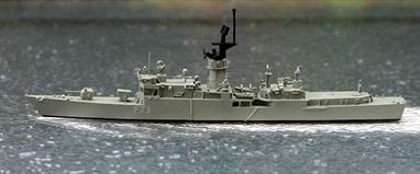 A 1/1250 scale second-hand model of the Spanish frigate Cataluna F73 by Argos AS-39. This model is in very good original condition, see photograph.