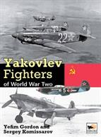 9781902109466 Yakovlev Fighters of World War TwoThis extensively illustrated volume presents the development, history and technical specification of each type of this famous Soviet fighter.Author: Yefim Gordon, Sergey Komissarav, Dmitriy Komissarov.Publisher: Hikoki Publications.Hardback. 336pp. 22cm by 31cm.