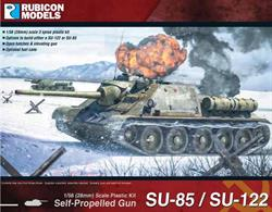 This kit can be built as a Soviet Su-122 self propelled howitzer with a 122mm M-30S howitzer or as a Su-85 self propelled gun / tank destroyer with an 85mm D-5S gun.Number of Parts: 59 pieces / 3 sprues