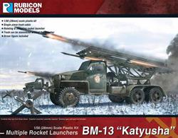 This highly detailed plastic kit builds a Studebaker US6 6x6 truck with a rotating and elevating BM-13N Katyusha multiple rocket launcher.Number of Parts: 49 pieces / 3 sprues