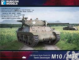 The M10 Tank Destroyer, christened Wolverine by the British, was based on the chassis of the M4 Sherman tank fitted with the 3-inch (76.2 mm) M7 Gun. The M36 Jackson was an up-gunned M10 with a powerful 90mm gun.Number of Parts: 66 pieces / 3 sprues