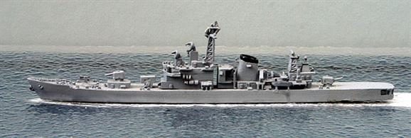 A 1/1250 scale second-hand model of JMDF guided missile destroyer Hatakaze of 1986 by Hai 292. This model is in very good condition in overall light grey, see photograph.