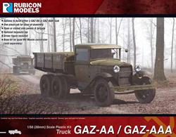 This kit builds either the Soviet GAZ-AA or GAZ-AAA trucks, which were licence built versions of the Ford model AA truck constructed between 1932 and 1950. The kit can be built with open or closed side panels and an optional tarpaulin top is supplied. A M4 Maxim conversion set is available separately.