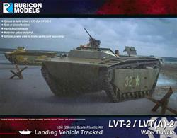 This kit for the US amphibious LVT Landing Vehicle Tracked builds either the LVT-2 Water Buffalo, known as Buffalo II in British service, or the armoured version, the LVT(A)-2.Number of Parts: 76 pieces / 3 sprues