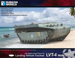 This kit builds a model of the US amphibious Landing Vehicle Tracked LVT-4 Water Buffalo, known as Buffalo IV in British service, a redesigned LVT with rear ramp access for rapid unloading of cargo and troops.Number of Parts: 85 pieces / 4 sprues