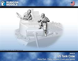 Pack contains 4 multi-pose figures to add a crew for a US tank.