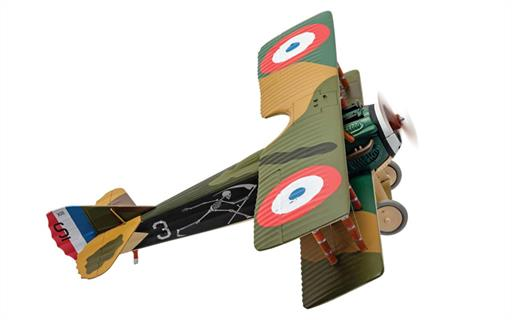 Corgi AA37909 Spad XIII White 3 Pierre Marinovitch Escadrille Spa 94 The Reapers 1/48