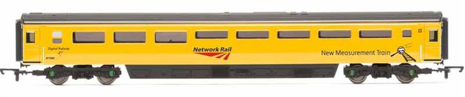 Detailed model of the Network Rail New Measurement Train standby generator coach 977995 which contains a generator to provide power to the train when stabled, allowing the HST power car engines to be shut down.