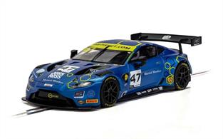 Scalextric C4076 1/32nd Aston Martin Vantage GT3 2019 TF Sport British GT Slot Car