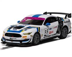 Scalextric C4173 1/32nd Ford Mustang GT4 British GT 2019 Multimatic Motorsports Slot Car