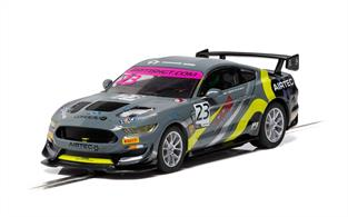 Scalextric C4182 1/32nd Ford Mustang GT4 British GT 2019 RACE Performance Slot Car