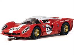 Scalextric C4163 1/32nd 412P Targa Florio 1967 Slot Car