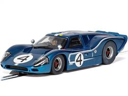 Scalextric C4031 1/32nd Ford GT MKIV 1967 LeMans 24Hrs Denny Hulme/Lloyd Ruby No.4 Slot Car