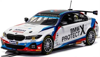 Scalextric C4188 1/32nd BMW 330I M-Sport BTCC 2019 Colin Turkington Slot Car