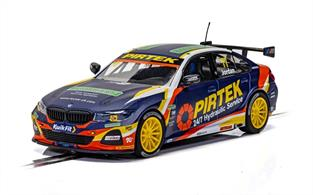 Scalextric C4194 1/32nd BMW 330I M-Sport BTCC 2019 Andrew Jordan Slot Car