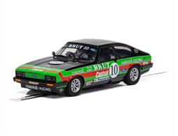Scalextric C4101 1/32nd Ford Capri Mk3 Stuart Graham Slot Car