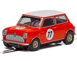 Scalextric C4154 1/32nd Austin MINI Cooper S Andrew/Mike Jordan 2019 Slot Car