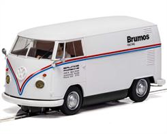 Scalextric C4086 1/32nd VW Panel Van T1b Brumos Racing Slot Car
