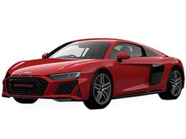 Airfix J6049 Quickbuild Audi R8 Coupe Clip together Block ModelNumber of Parts 45   Length 191mm   Width 84mm