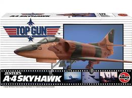 Airfix A00501 1/72nd Top Gun Jester's A-4 Skyhawk Aircraft KitNumber of Parts 116   Length 163mm   Wingspan 114mm