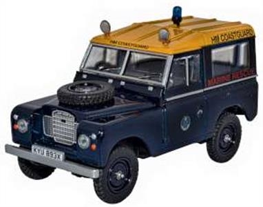 Oxford Diecast 43LR3S007 1/43rd Land Rover Series III SWB Station Wagon HM Coastguard