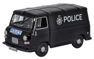 Oxford Diecast 76J4005 1/76th Morris J4 Greater Van Manchester Police