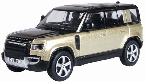 Oxford Diecast 76ND110X001 1/76th New Land Rover Defender 110